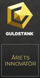 GULDSTÄNK - Nominering: Årets innovatör 2018